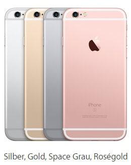 Apple iPhone 6s günstig mit Vodafone Tarif bestellen
