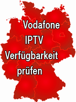 Vodafone IPTV Verfügbarkeit prüfen