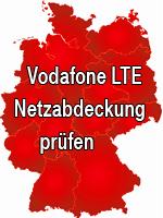 Vodafone LTE Netzabdeckung prüfen (Verfügbarkeit)