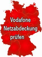Vodafone Netzabdeckung prüfen