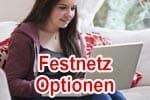 Vodafone Festnetz Optionen - Telefonie, Sicherheit, Internet uvm.