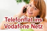 Vodafone-Flat: Telefonflat ins Vodafone Handynetz für DSL, VDSL, Kabel