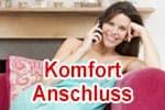 Vodafone Komfort-Anschluss (ISDN Merkmale) für DSL / VDSL / Glasfaser