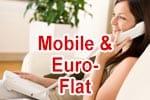 Vodafone Mobile & Euro-Flat für Telefonanschluss (DSL, VDSL, Kabel)