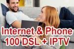 Vodafone Red Internet & Phone 100 DSL mit IPTV (Fernsehen über VDSL)