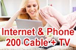 Vodafone Red Internet & Phone 200 Cable mit GigaTV (Kabel Kombi-Paket)