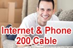 Vodafone Red Internet & Phone 200 Cable - Internet & Telefon via Kabel