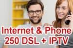 Vodafone Red Internet & Phone 250 DSL mit IPTV (Fernsehen über VDSL)