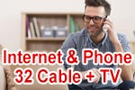Vodafone Red Internet & Phone 32 Cable mit GigaTV (Kabel Kombi-Paket)