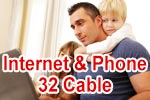 Vodafone Red Internet & Phone 32 Cable - Internet & Telefon via Kabel