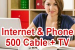 Vodafone Red Internet & Phone 500 Cable mit GigaTV (Kabel Kombi-Paket)