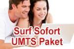 Vodafone Surf Sofort UMTS Paket - Telefon und DSL Internet Flat